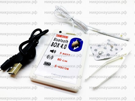 Bluetooth BOX ПРЕМИУМ, капсульный динамик, микрофон-встроенный