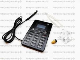 Телефон микронаушник, капсульный динамик, микрофон-выносной
