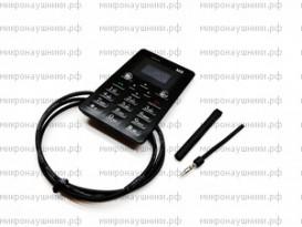 Телефон микронаушник, магнитный динамик, встроенный микрофон