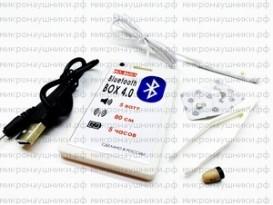 Bluetooth BOX  ПРЕМИУМ, капсульный динамик, микрофон-выносной